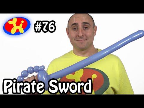 Pirate Sword - Balloon Animal Lessons #76