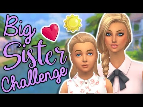 The Sims 4: Big Sister Challenge- Part 1// Stronger together.