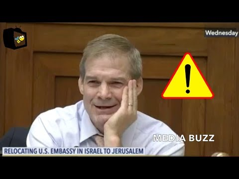 Jim Jordan Makes the Case For Moving U.S. Embassy In Israel to Jerusalem. Everyone Laughs and Claps!