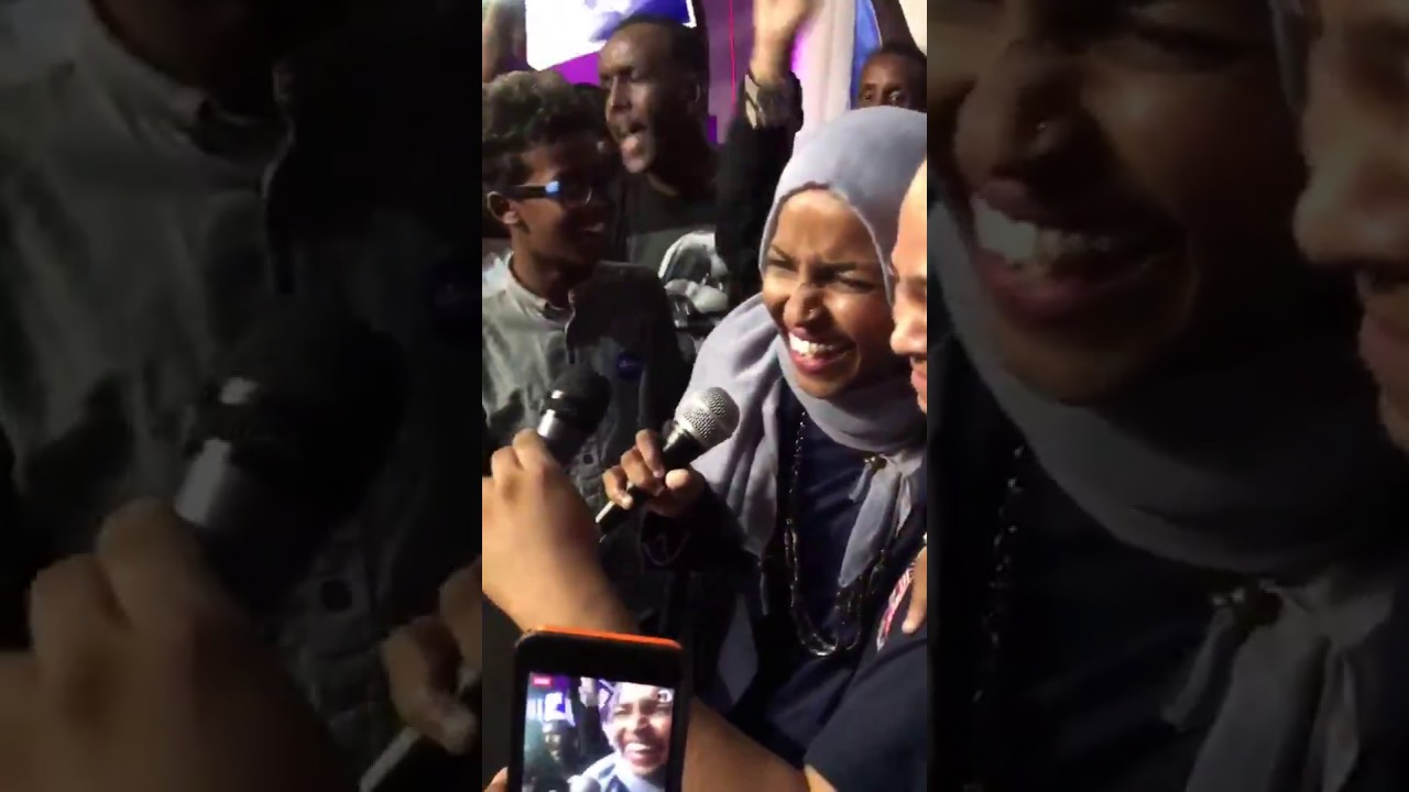 """Ilhan Omar celebrates DFL primary victory: """"We're going to ...Ilhan Omar Primary"""