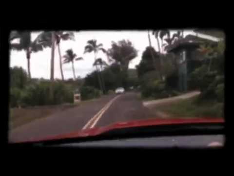 Driving in Haena