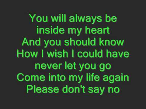 Always With Me Japanese Version With Lyrics - YouTube