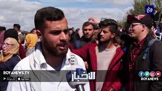 وقفة احتجاجية رفضاً لاقتحام الاحتلال حرم جامعة بيرزيت