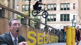BMX Security Challenge in NYC