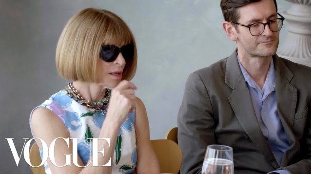 Anna Wintour on Politics and the Fashion Business in Trump's America  Part 1
