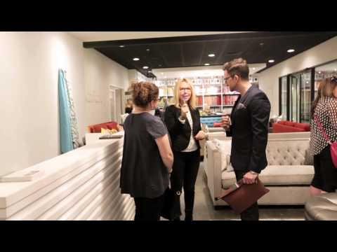 House & Home SOFA Video during The Canadian Furniture Show