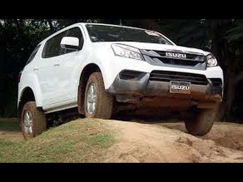 Review And Test Isuzu MU-X 4x4 Offroad 2016