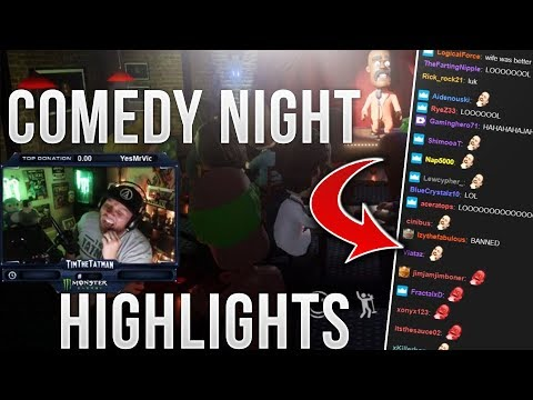 Timthetatman Comedy Night Highlights |