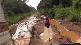 Africa Overland Mission Rig & Road