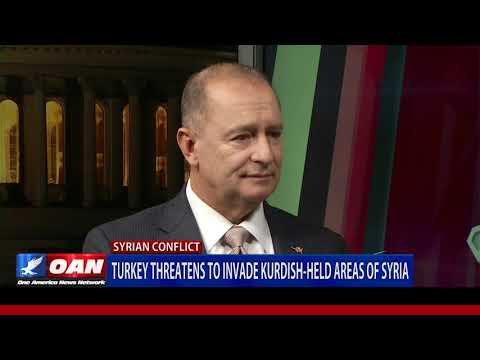 Turkey threatens to invade Kurdish-held areas of Syria