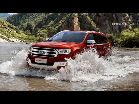 2019 Ford Everest Interior and Exterior