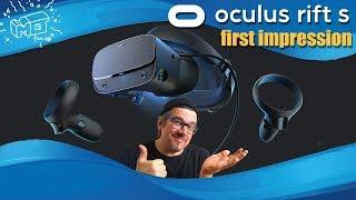 Oculus Rift S ._. first impression / deutsch / german