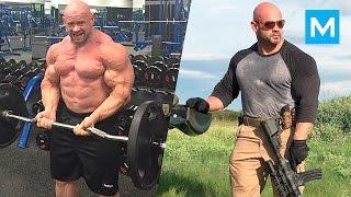 Branch Warren Strength & Bodybuilding Workout | Muscle Madness