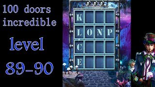 100 doors incredible,Walkthrough/Невероятный мир прохождение level-89-90