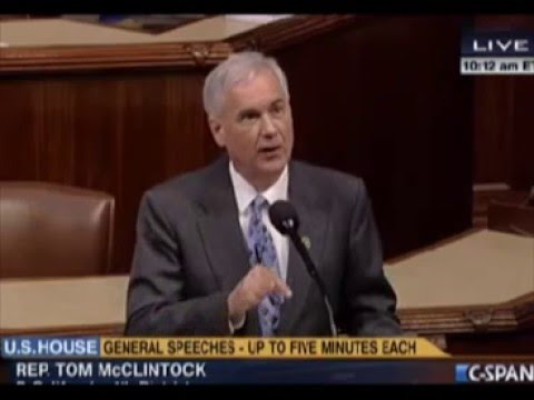 Tom McClintock Trashes Leftist No Fly List Gun Control