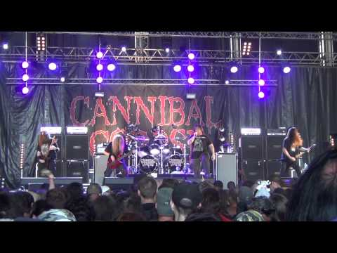Cannibal Corpse live at Hellfest 2015