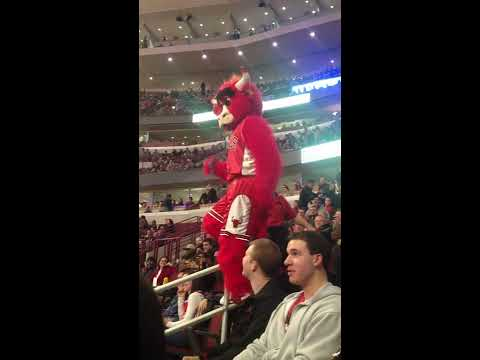 Benny the Bull and Silly String