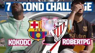⏱️ 7 SECOND CHALLENGE ÉPICO | 🔥 ROBERT PG vs KOKO DC 🔥 (COPA DEL REY 2021)