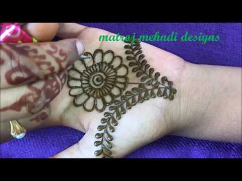 Mehndi Design For Hands Mehndi Design Latest For Kids  matroj Mehndi Designs