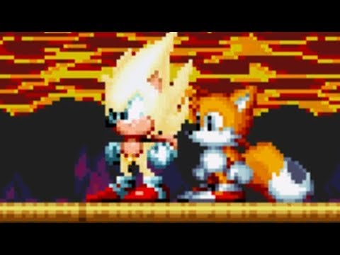 Sonic Mania  SUPER SONIC GAMEPLAY!  Lava Reef Zone