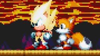 Sonic Mania - SUPER SONIC GAMEPLAY!   Lava Reef Zone