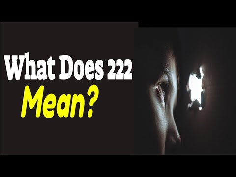 Meaning Of 222 In Numerology - Why Do You Keep Seeing 222? | Angel Number 222 Meaning