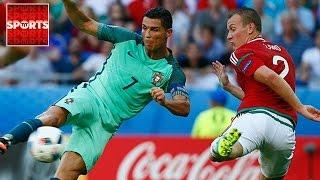 PORTUGAL 3-3 HUNGARY [RONALDO BACKHEEL Goal Of The Tournament So Far?]
