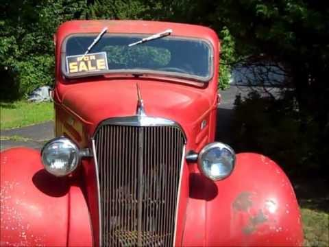 1937 Chevy Pick Up Youtube