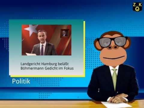 News: LG Hamburg pusht Böhmermann Gedicht - Streisand Effekt (17.5.2016)