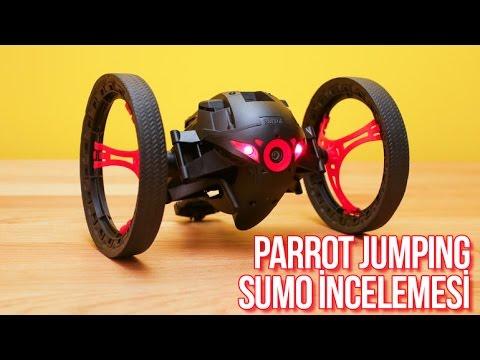 ilginç ürünler parrot jumping sumo incelemesi