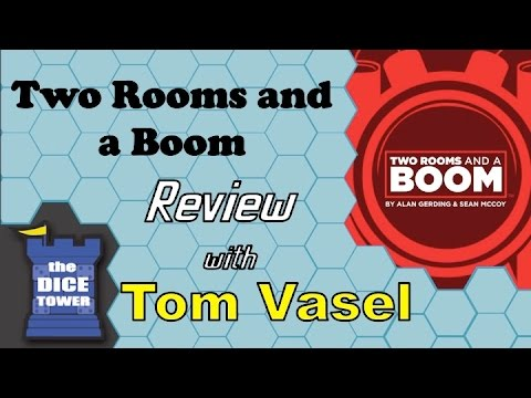 Two Rooms and a Boom Review - with Tom Vasel - YouTube