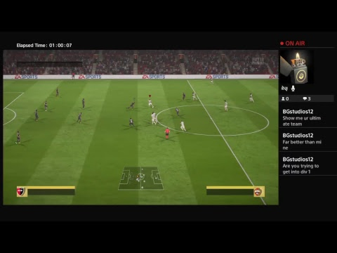 Lets play ultimate to div1 good goals only ;) Ps4 Laramizzle93's Live chat n chill stream