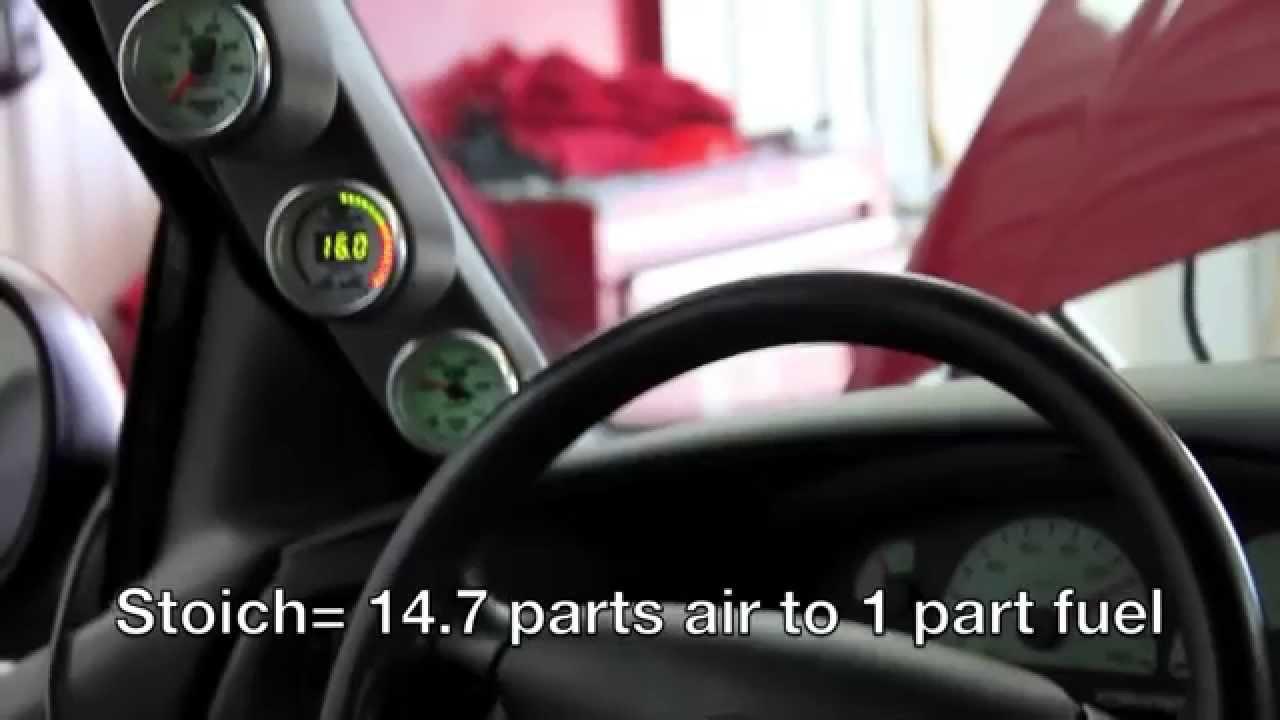 How Auto Meter Wideband Air Fuel Gauge Tuning Works Youtube Aem Wiring