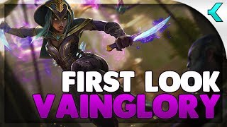 VAINGLORY FIRST LOOK! The Standard of Mobile MOBAS!