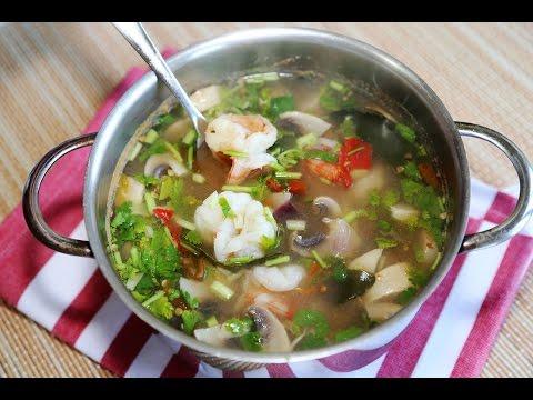 ต้มยำกุ้งน้ำใส แบบเผ็ดเปรี้ยวร้อนและแซ่บเวอร์ / Tom Yum Goong ( Thai Spicy Prawns Soup)