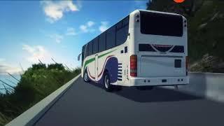 Graphical Re-Presentation Of Mini Bus Accident At Ambenari Ghat Near Mahabaleshwar