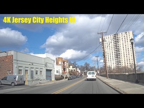 4K Driving in Jersey City Heights