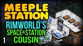 Meeple Station - RimWorld on a Space Station! (Meeple Station Gameplay part 1)