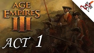 Age of Empires 3 - Mission 5 TEMPLES OF THE AZTECS | Act 1 | Campaign [HARD/1080p]