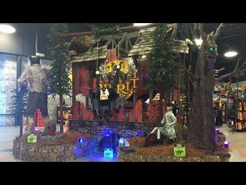 Spirit Halloween 2017 flagship store tour