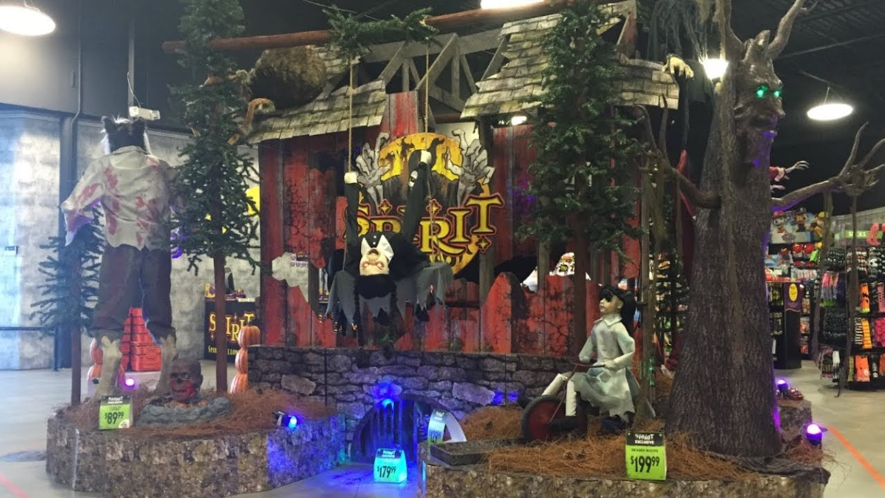 spirit halloween 2017 flagship store tour - Halloween Store Spirit