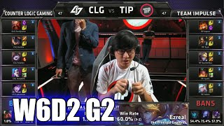 CLG vs Impulse | S5 NA LCS Summer 2015 Week 6 Day 2 | CLG vs TIP W6D2 G2 Round 2