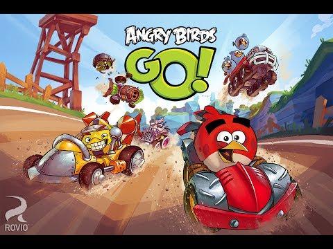 Angry birds Go! Серия 2! Фрукты и монеты! Seedway