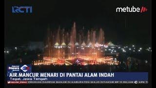 INDAH! Beginilah Pertunjukan Air Mancur Menari di Kota Tegal - SIM 11/06