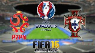 FIFA 16 - EUROCOPA 2016: Polônia X Portugal
