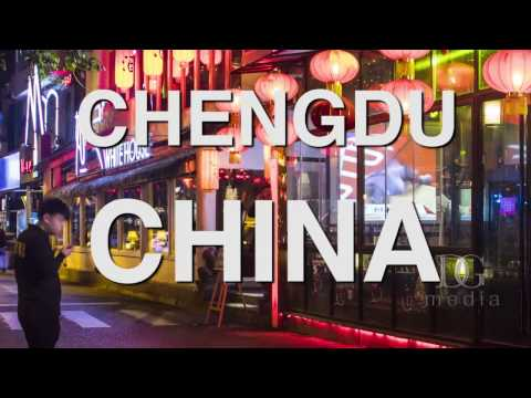 Time Lapse of Chengdu, China