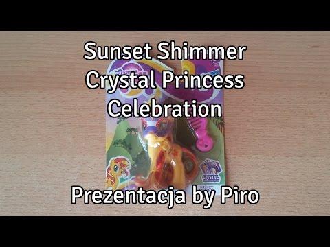 Sunset Shimmer - Crystal Princess Celebration - Prezentacja by Piro
