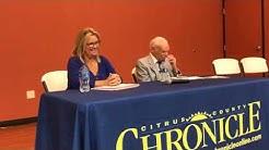 2018 Crystal River City Council Political Forum