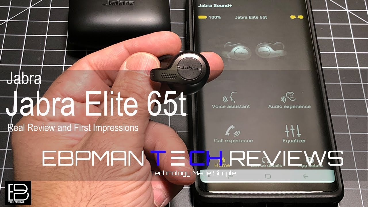 Real Review and First Impressions of the Jabra Elite 65t Best Bluetooth  Wireless Earbuds Hands on