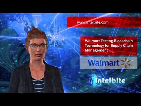 Walmart Testing Blockchain Technology